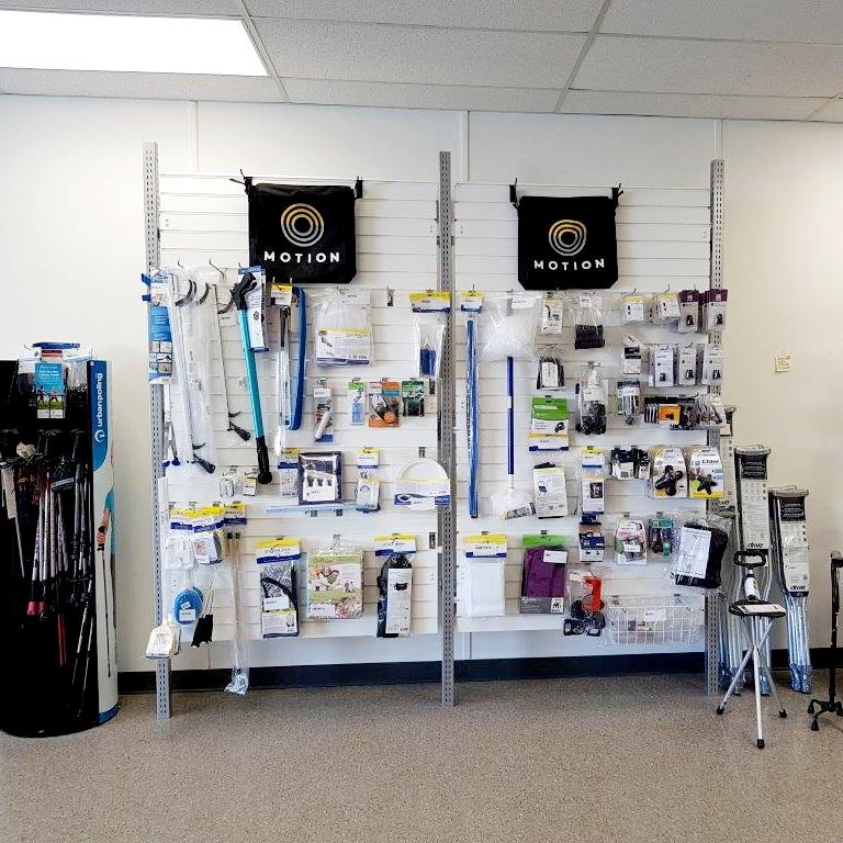 Kingston showroom - bathroom safety display