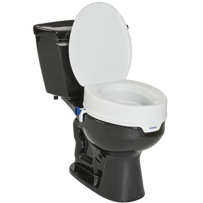A90 Toilet Seat Raiser with Lid