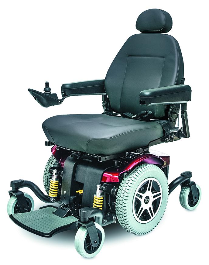 Jazzy® 614 Heavy Duty Power Wheelchair